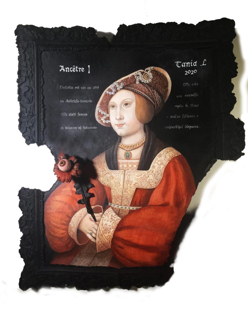 artist Tania Luchinkina, TaniaL Ancetre I