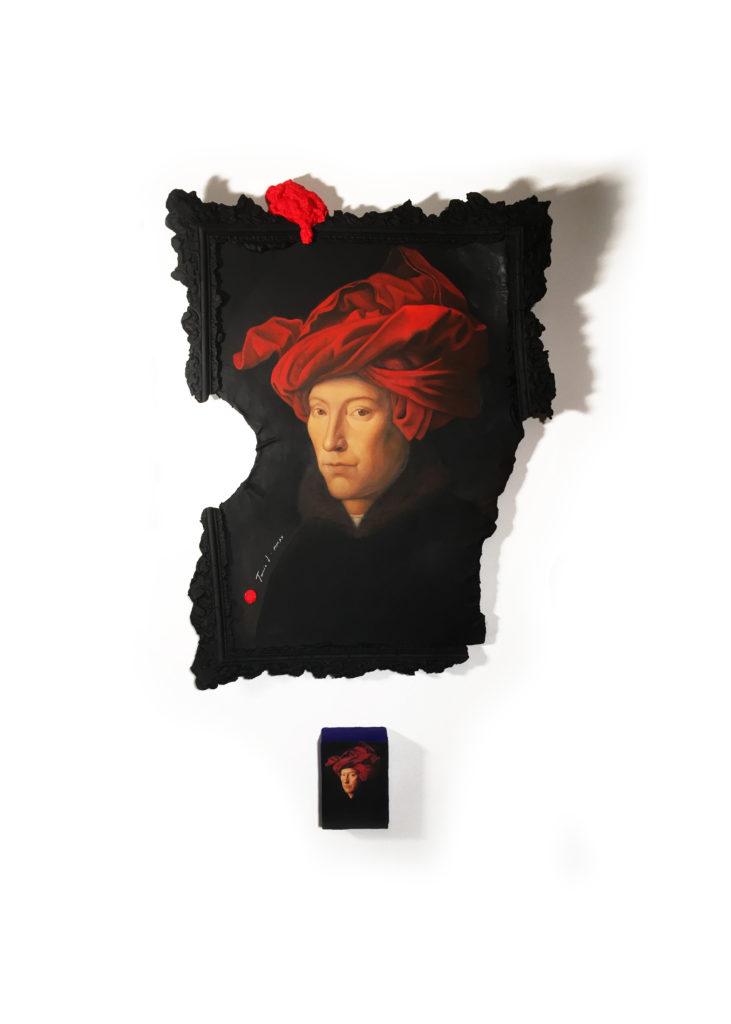 Tania Luchinkina Homme au turban rouge à l'age de 40 ans