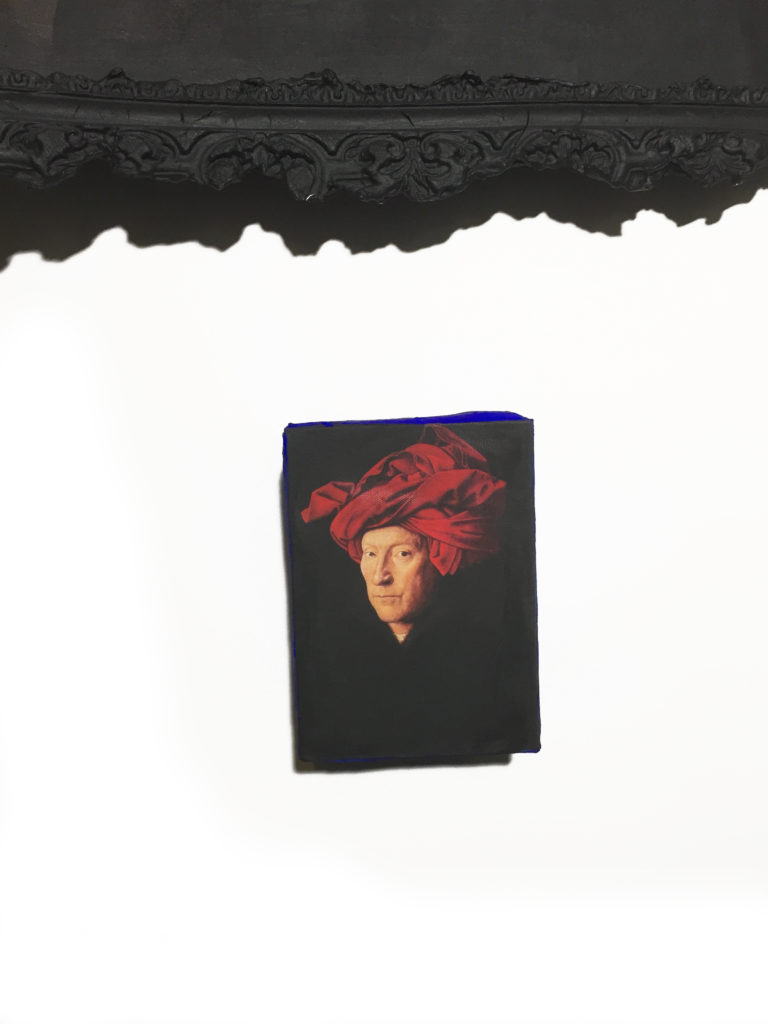 Tania Luchinkina Homme au turban rouge à l'age de 40 ans, detail